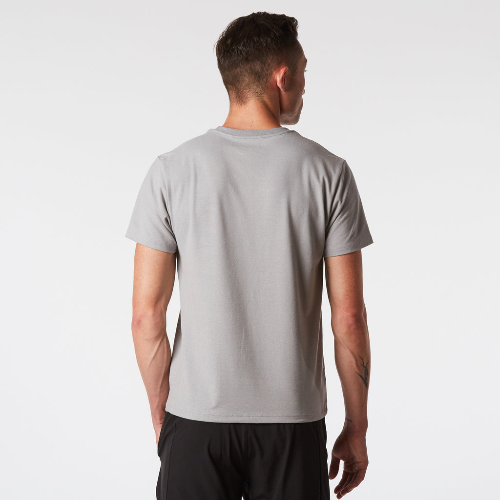 Mint Extract Crew Tee - Grey