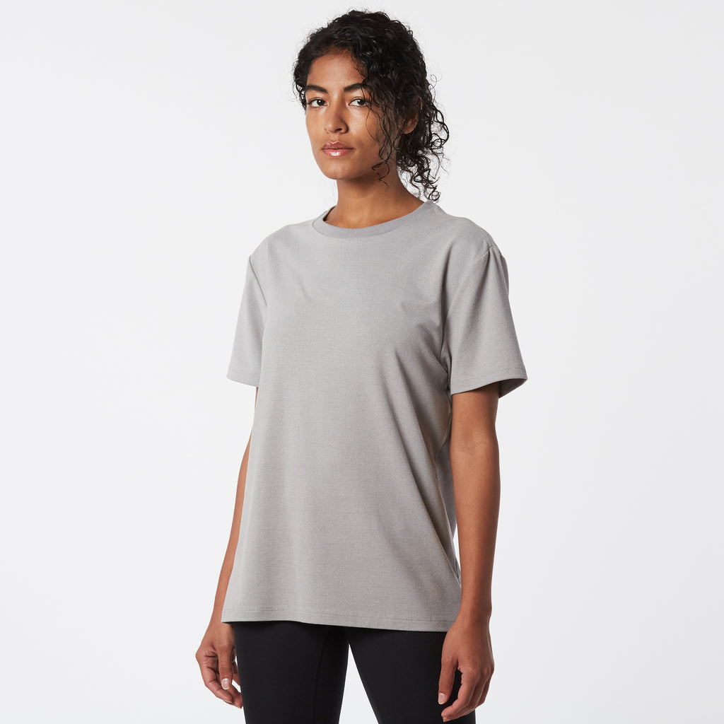 Mint Tech Crew Tee - Grey