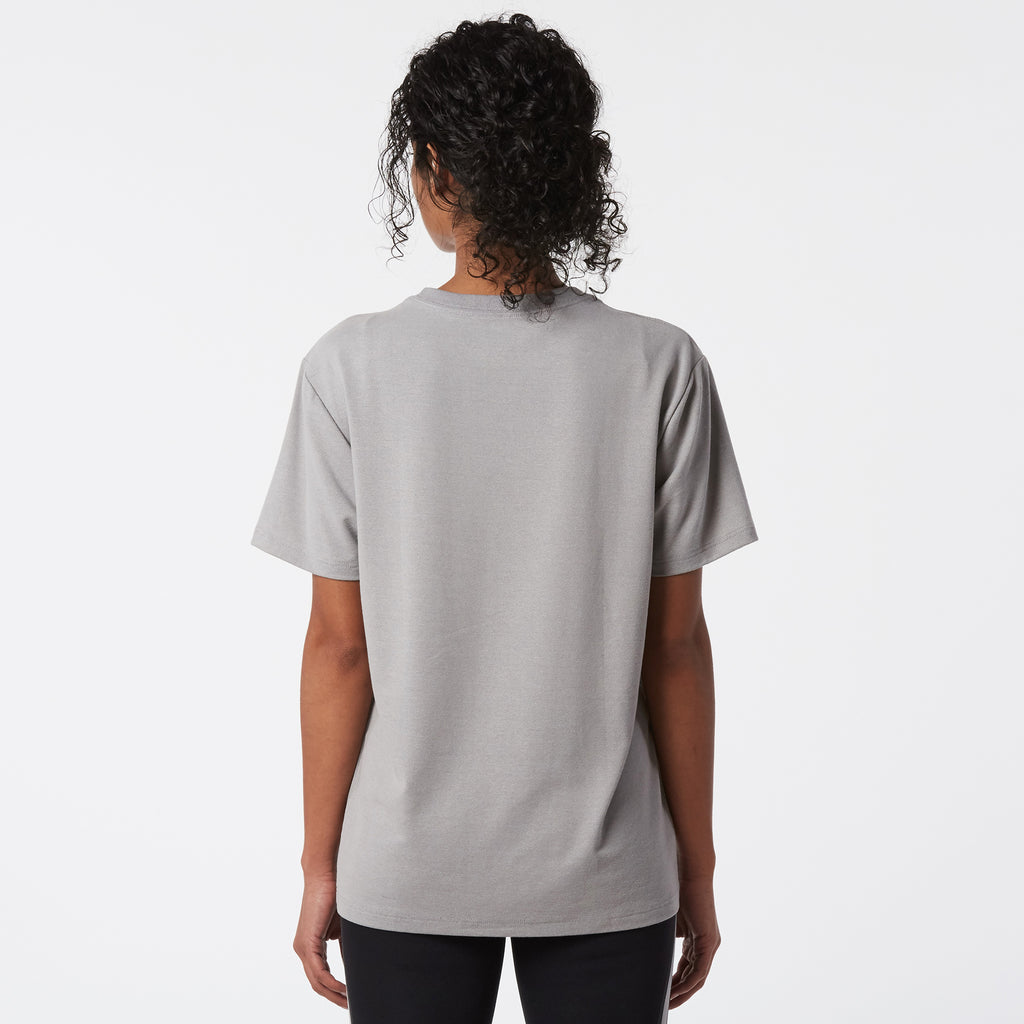 Mint Stretch Crew Tee - Grey