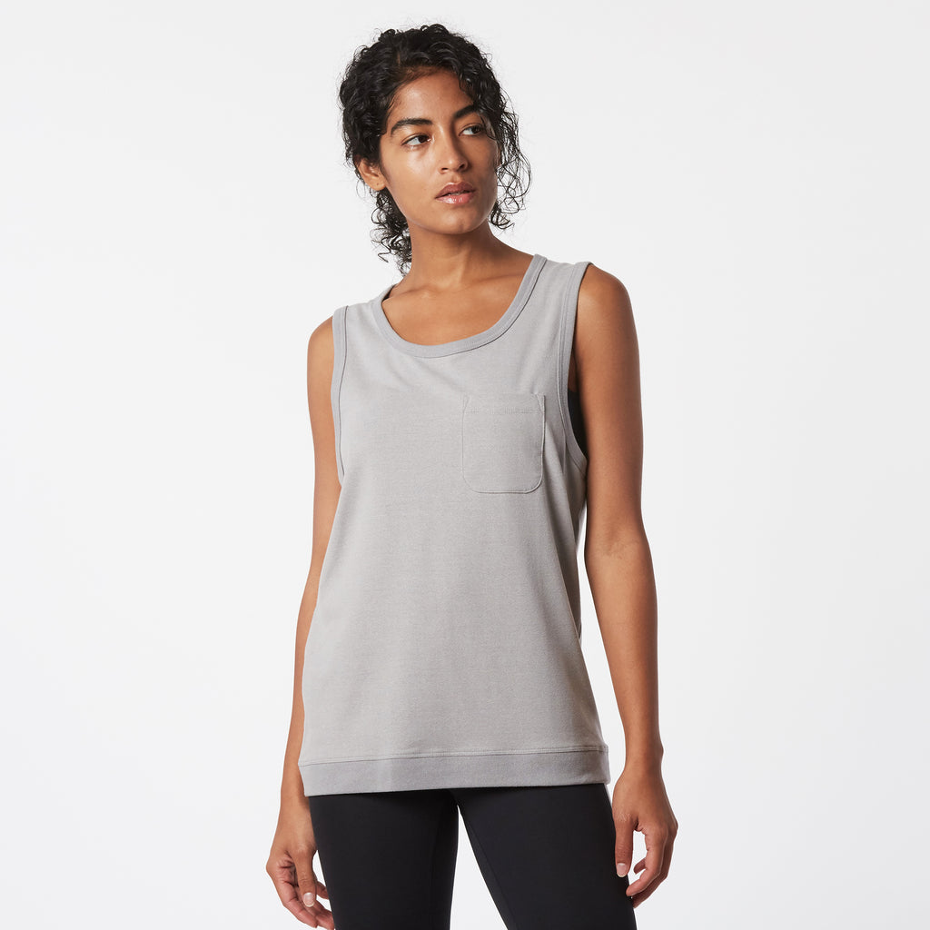 Mint Extract Tank - Grey