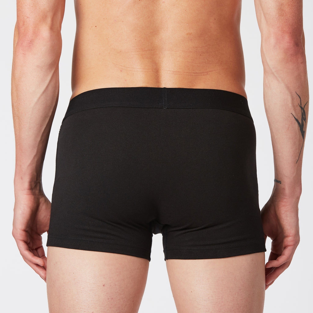 Mint Extract Boxer Briefs 3pairs - Black