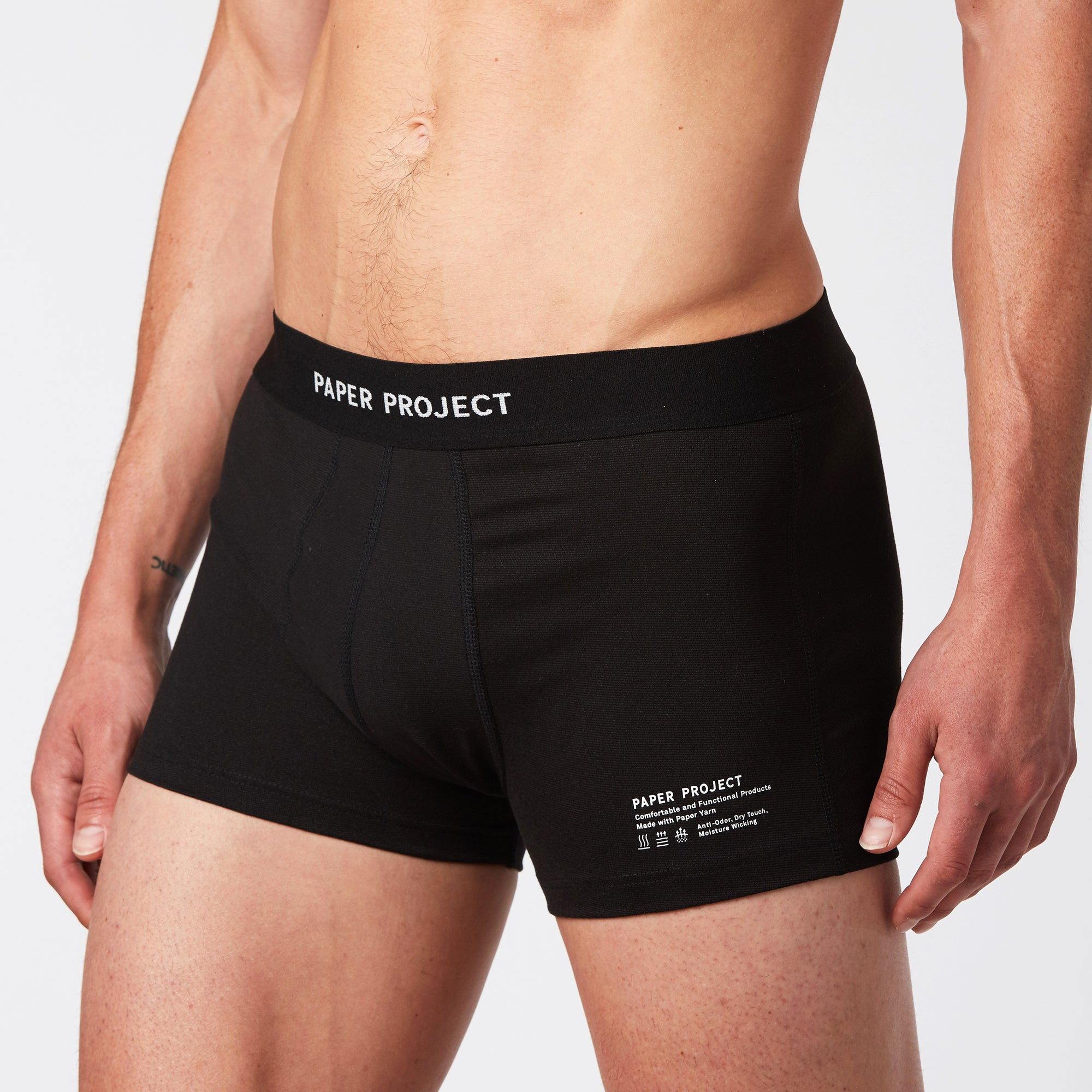 Mint Boxer Brief - Black