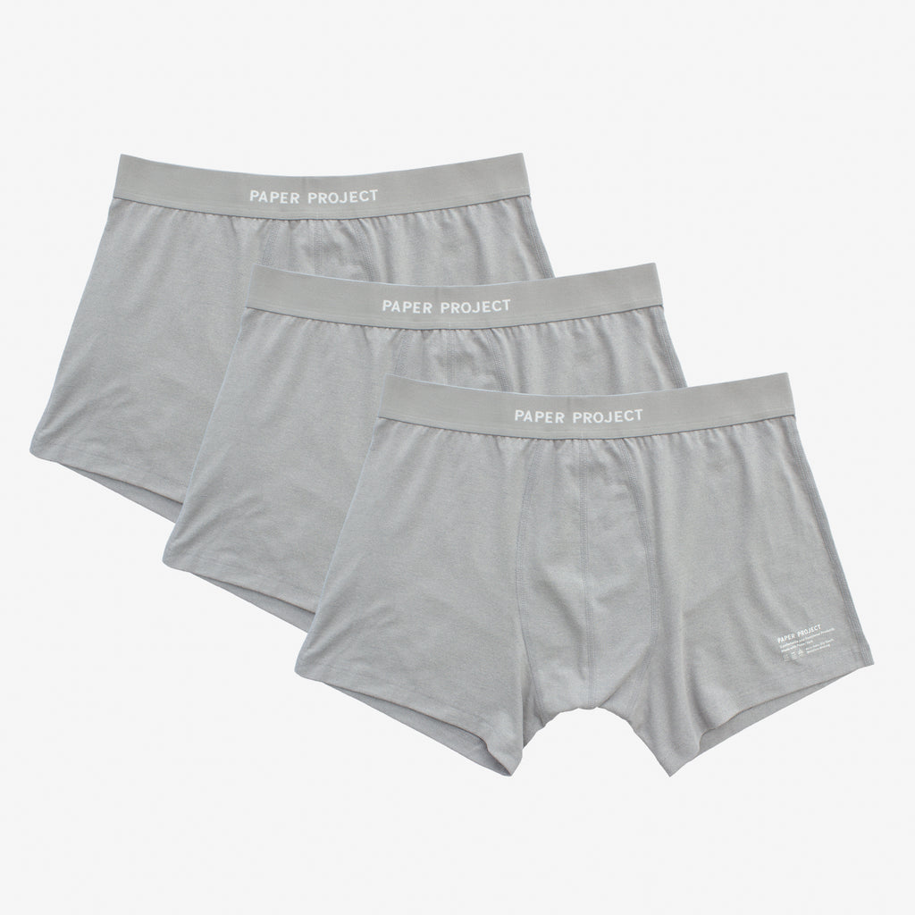 Mint Tech Boxer Briefs 3pairs - Grey