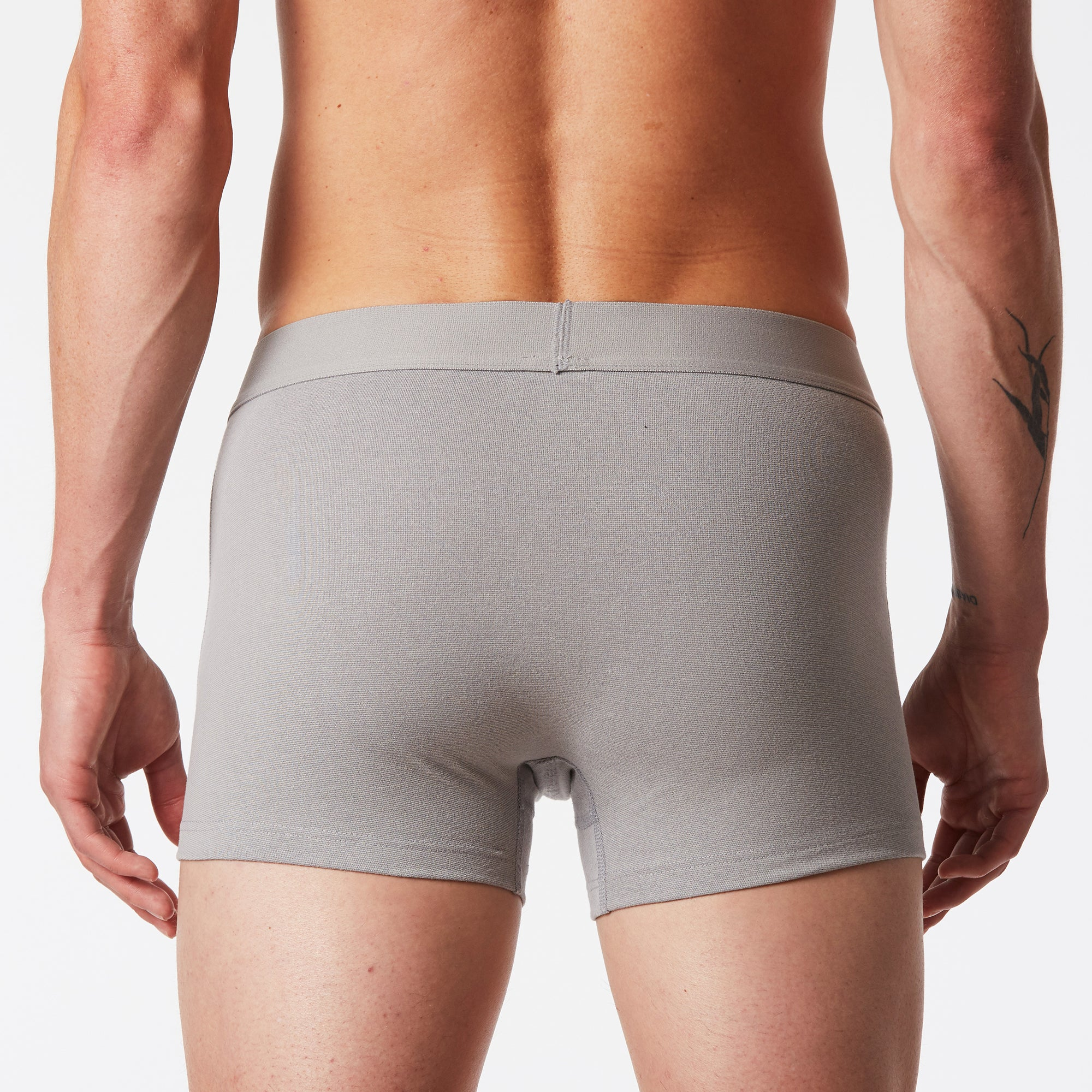 Mint Boxer Brief - Grey