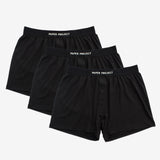 Mint Tech Boxer Shorts 3pairs - Black