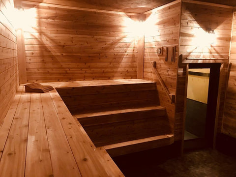 chicago russian dry cedar sauna