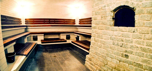 turkish wet stone sauna