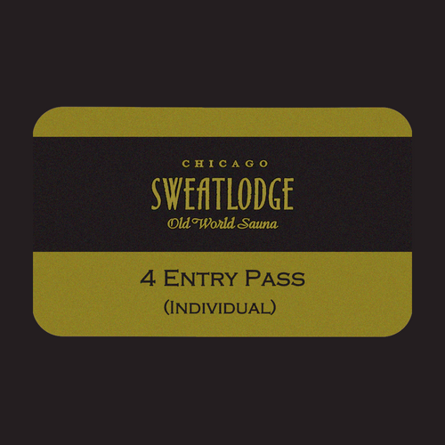 4 Entry (Individual) Pass