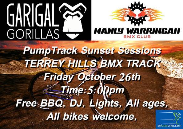 PumpTrack Sunset Party