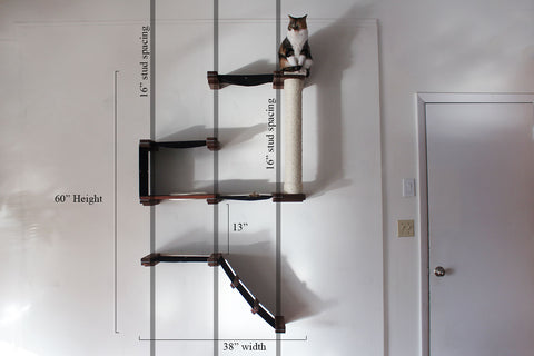 Cat Mod Deluxe Fort Mounting Instructions