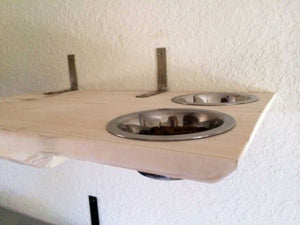 Cat Dining Shelf