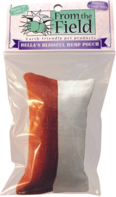 Bella's Blissful Hemp Pouch with Silver Vine Catnip Blend