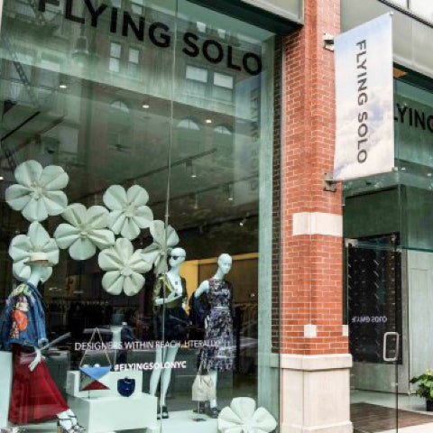 flying solo nyc store front