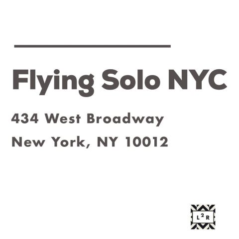 flying solo location information