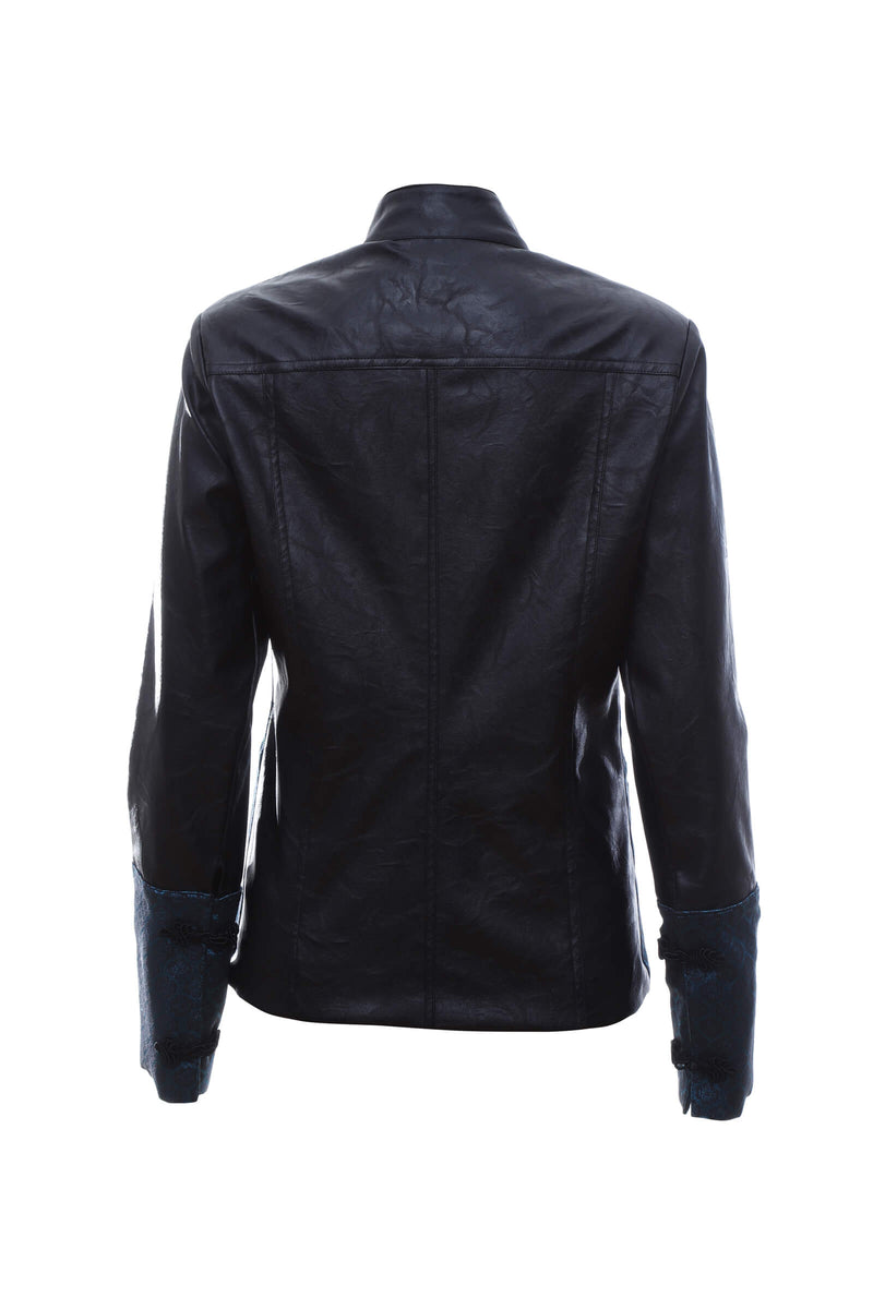 J2 | Two-Face jacket: dark teal and black