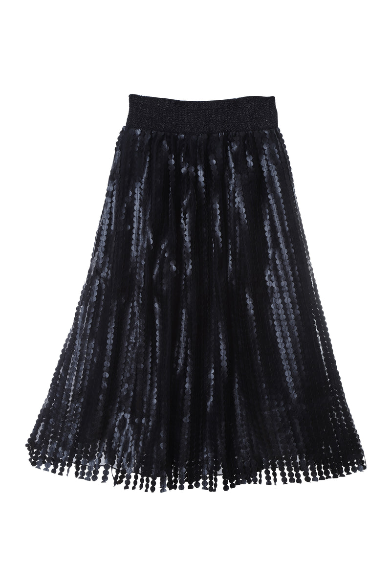 SK3 | Super Pleats skirt: black