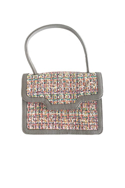 SC3 | NANO TOTE SCRABAG: RECYCLED multicolored tweed