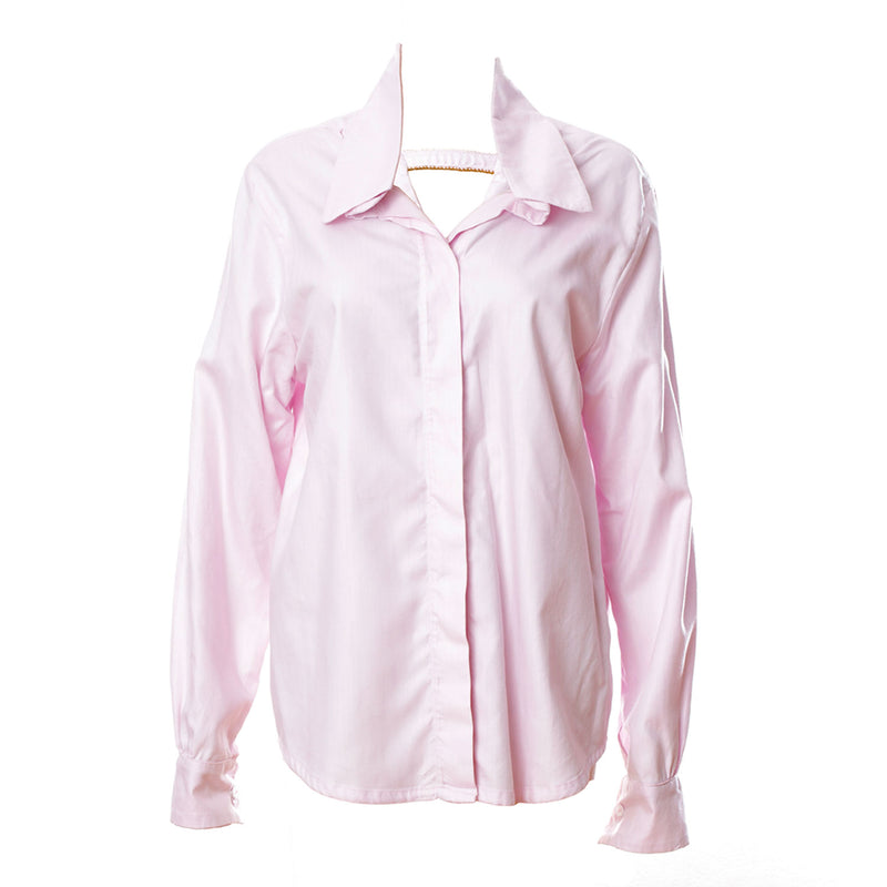 SH2 | Oversized Shirt in Pink Cotton