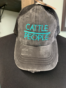Cattle/People Criss Cross Cap