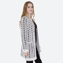 Load image into Gallery viewer, Fuzzy Knit Cardigan