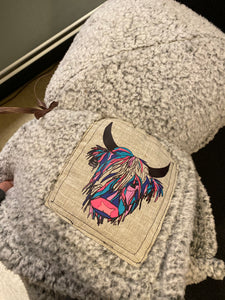 Sherpa Logo Throw Blanket