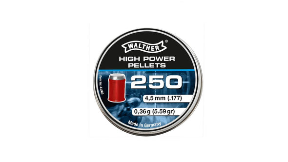 Walther High Power Pellets