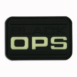 Black Ops Rubber Patch Glow in the Dark