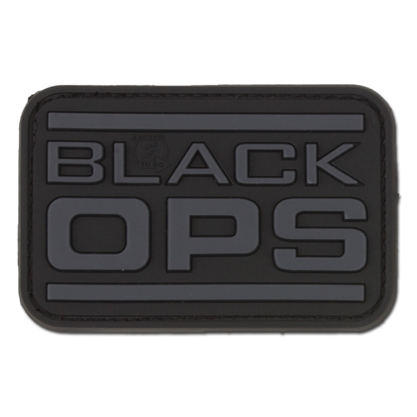 Black Ops 3D Rubber Patch