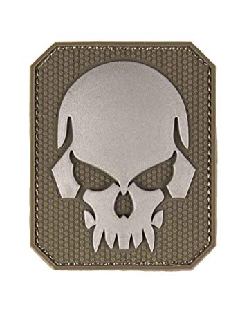 Skull 3D Patch Coyote
