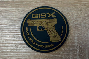 Glock G19X 3D Rubber Patch