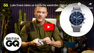 Some style & watch tips from Luke Evans