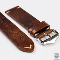 Vintage Leather Strap, Camel