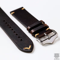 Vintage Leather Strap, Tobacco