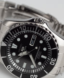 Seiko 'Sea Urchin' Black Automatic Divers Watch SNZ17J1 (JDM)