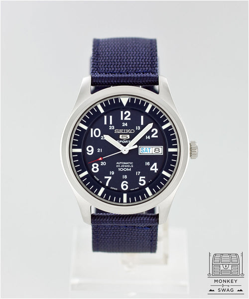 Seiko Automatic Field Watch Blue SNZG11J1 (JDM)