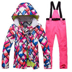 Python Ridge™ COLORMATE Windproof Winter Ski Suit (Womens) - Python Ridge™ Outfitters