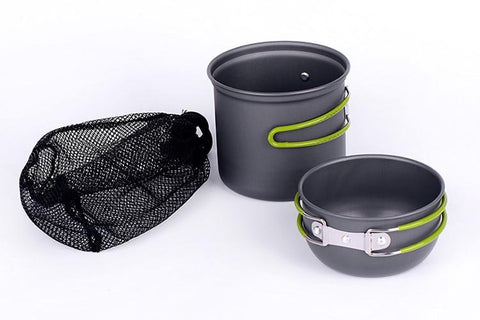 WideSea 2 Person Ultralight Camping Cookware Set - Python Ridge™ Outfitters
