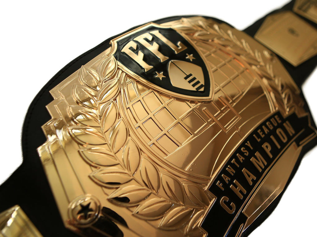 Fantasy Football Championship Belt - Gold