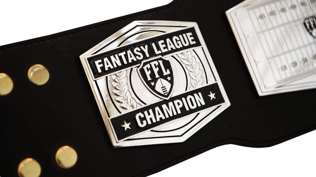 Fantasy Football Championship Belt - Silver
