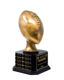 "16"" Football Trophy- Antique Gold"