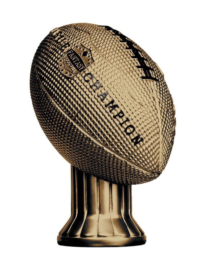 Vivid Football Trophy Gold Topper