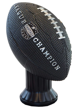 Vivid Football Trophy Black Topper