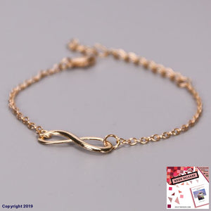 1Pc New Fashion Love Infinity Bracelet For Women Personalized 8 Symbol Chain Bracelets Girl Gift