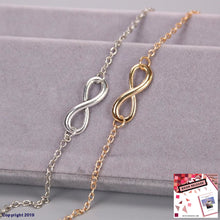 Load image into Gallery viewer, 1Pc New Fashion Love Infinity Bracelet For Women Personalized 8 Symbol Chain Bracelets Girl Gift