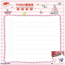Load image into Gallery viewer, 7.5X7.5Cm Kawaii Memo Pad Sticky Notes Cute Checklist To Do List Plan For School Office Supplies