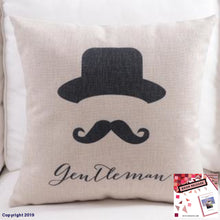 Load image into Gallery viewer, Cotton Linen Pillow Cover Dots Motivative Worlds English Letter Cushion Home Decorative Case