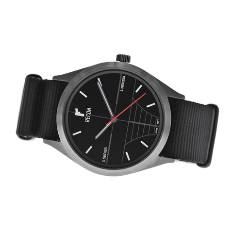 RECON Sniper QB Quartz- 42mm with Nato Strap