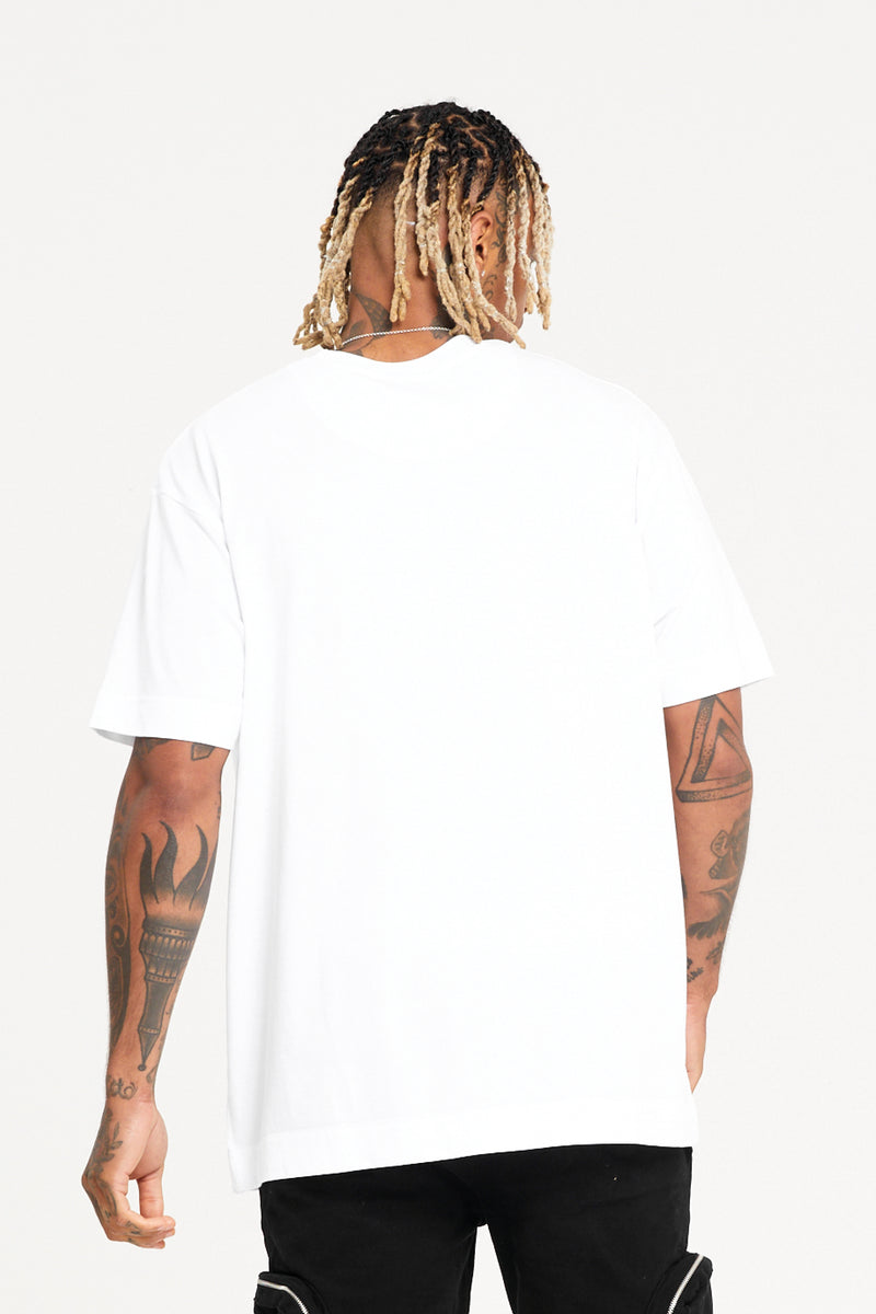 Oversized Copy White T-shirt