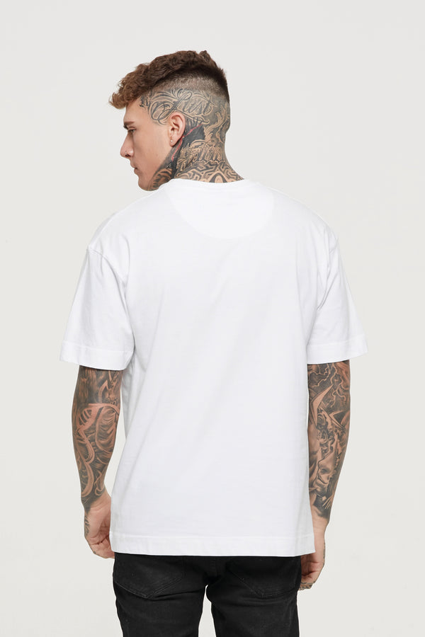 Oversized Essential White T-Shirt