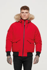 Fortitude Red Bomber Parka
